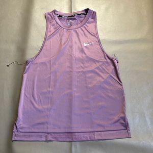 Nike Dri-fit Pink top SZ S